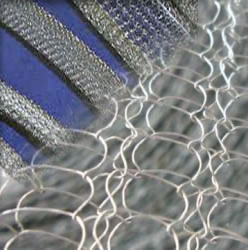 Woven Mesh Screen for Moisture and Grease Droplets Removing
